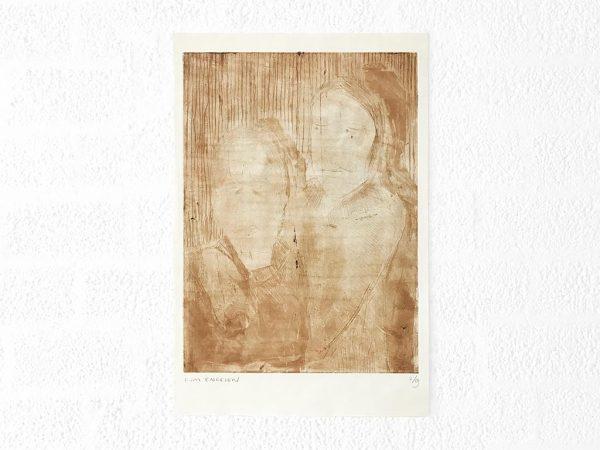 Kim Engelen, Ilse & Gerben—Variation No.2, Etching, 1997
