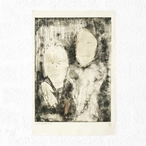 Kim Engelen, Ilse & Gerben—Variation No.3, Etching, 1997