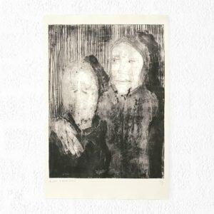 Kim Engelen, Ilse & Gerben—Variation No.4, Etching, 1997