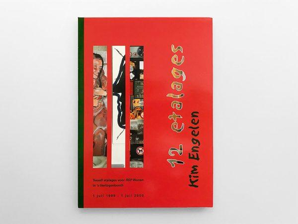 Kim Engelen, 12 etalages voor RSP Wonen, 12 Windows with Art, Digi-Pack (CD plus Book), Cover (Front),1999