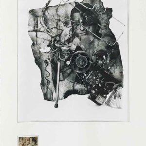 Kim Engelen, Aftermath No. 2 (Sculpture No.2), Web, 1993