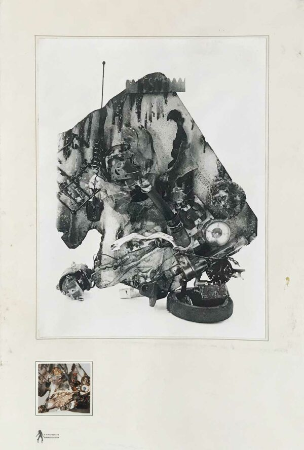 Kim Engelen, Aftermath No. 5 (Sculpture No. 5), Digital Download, Web Preview, 1993