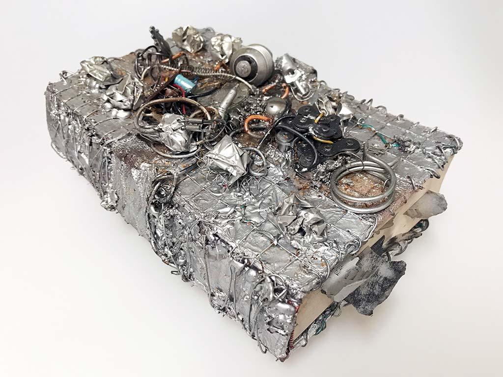 Kim Engelen, Aftermath No.6 (Book Sculpture), 1993