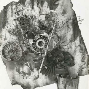 Kim Engelen, Aftermath No.8, Photograph 13 (Aftermath Sculpture No.4), 1993
