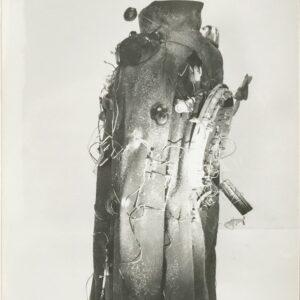 Kim Engelen, Aftermath No. 8, Photograph 19 (Cloak-Sculpture), 1993