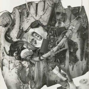 Kim Engelen, Aftermath No. 8, Photograph 8 (Aftermath Sculpture No.3), 1993