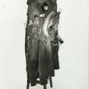 Kim Engelen, Aftermath No. 8, Photograph 9 (Cloak Sculpture), 1993