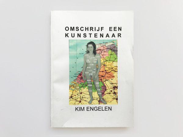 Kim Engelen, Omschrijf een Kunstenaar (English: Describe an Artist), Book 2, Front Cover, 1999