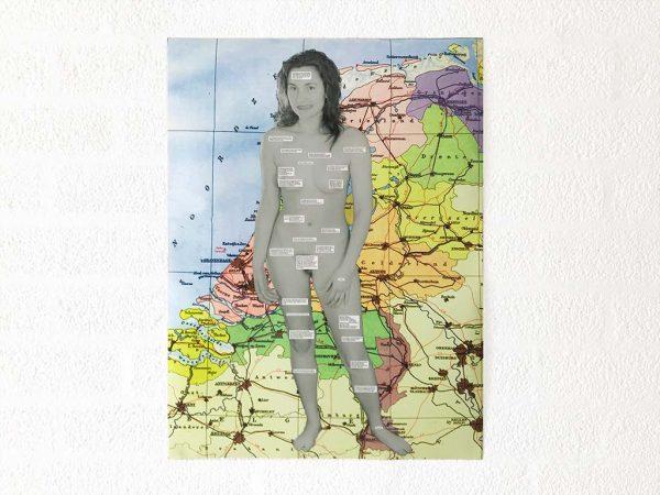 Kim Engelen, Omschrijf een Kunstenaar (English: Describe an Artist, Laminated Print, 1999