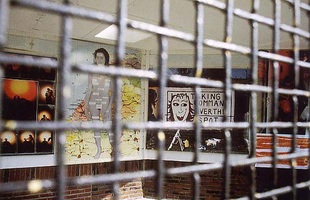 Kim Engelen,Solo-Exhibition, Volière (The Avery), Kunst AG, Hengelo, 1999