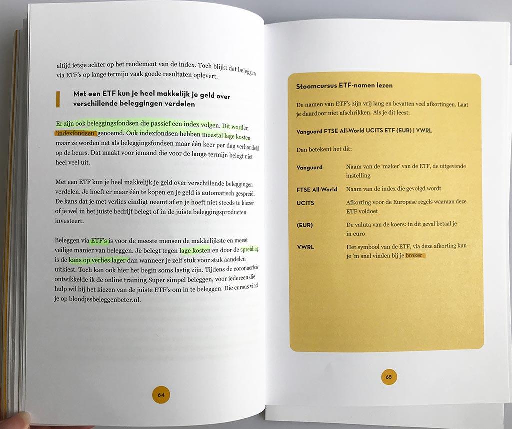 Book Review, Janneke Willemse, Blondjes Beleggen Beter, 2021