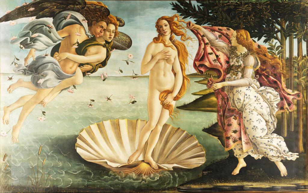 Sandro Botticelli, The Birth of Venus, c 1481-1486