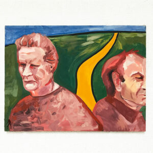 Kim Engelen, Marriage Road No.2 (From the Series Marriage), Oil on Canvas, Digital Download, Web-example, 1997