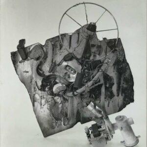 Kim Engelen, Aftermath No. 8 (Photograph 6, Aftermath Sculpture No. 3), 1993