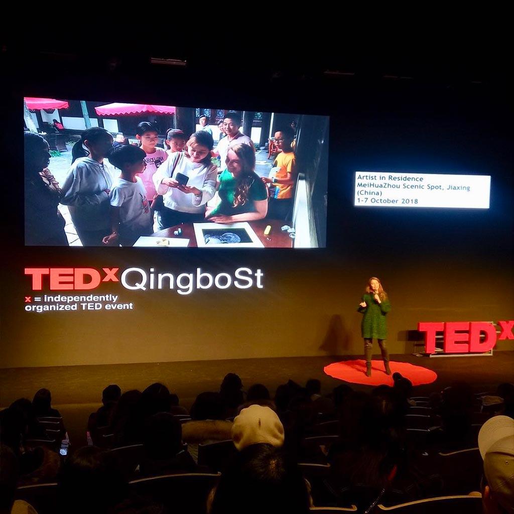 Kim Engelen, TEDx QingboSt, Hangzhou, China, October 2019