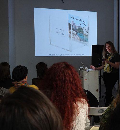 2. MKM-Magacin Artist-Talk Kim Engelen