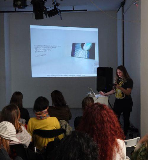 3. MKM-Magacin Artist-Talk Kim Engelen